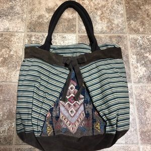 Miss Albright Anthropologie Large Tote Bag